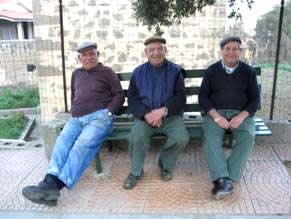 Anziani ospiti della Comunità alloggio